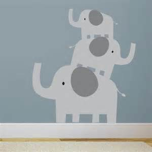elephant wall sticker stacked elephants wall decal wall decal world