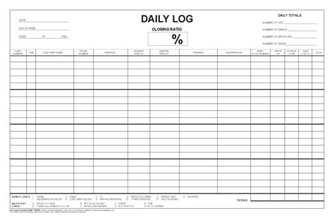 daily log daily sales log images