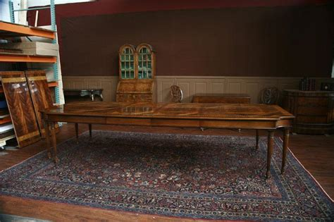American Made Dining Tables Louis Xvi Style American Made Leg Table Neoclassical