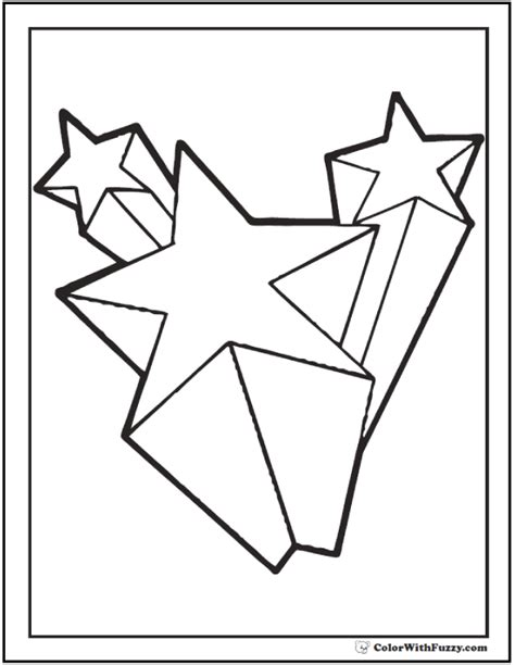 coloring page of a shooting star 60 star coloring pages customize and print pdf