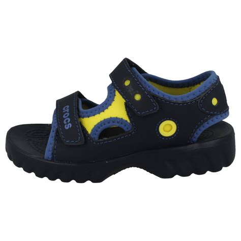 croc sandals toddler boys crocs sandals otter ebay