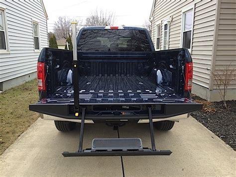 tailgate step      flaw ford truckscom