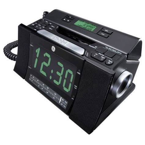 Bedroom Alarm Clock Radio General Electric Company 29298fe1 Best Buy