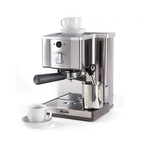 st maker breville cafe roma espresso machine kitchen stuff plus