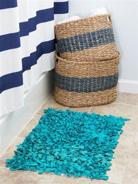 make rag rugs craft an inexpensive rug using t shirts how tos diy