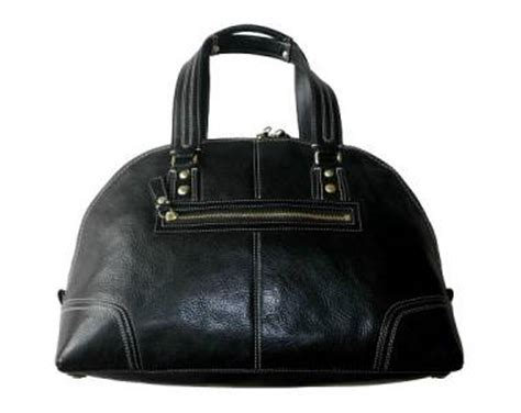 Coach Miranda Vintage Leather Xl Satchel by Coach Hton Miranda Blk Pebbled Leather Lg Tote Bag