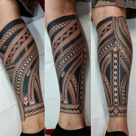 tattoo pattern socks polynesian leg sock done by neil aka mistercleantat2 yelp