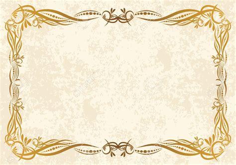 printable vintage background frame certificate