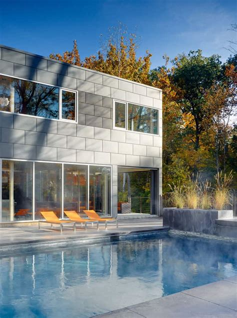 modern home design ohio modern refuge surrounded by lush forests in ohio the zinc