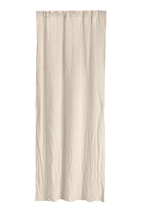 washing linen curtains washed linen curtain panel linen beige h m home h m us