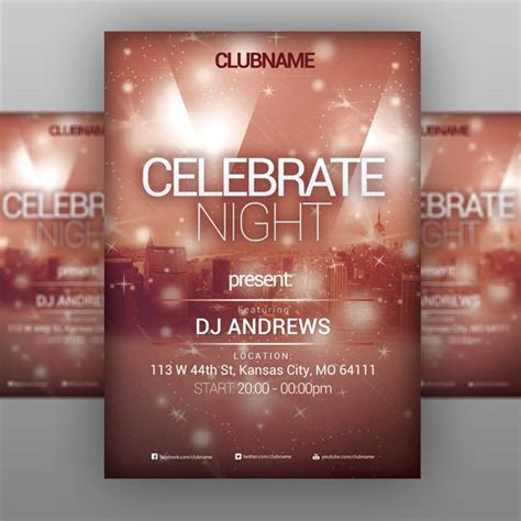 event flyer templates free www pixshark com images