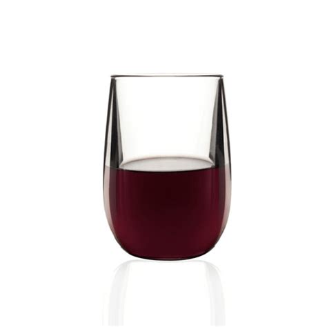 modern wine glasses vintage stemless wine glasses set of 6 barluxe