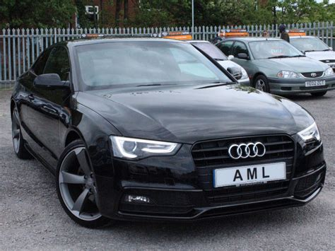 Audi A5 Coupe 1 8 Tfsi by Audi A5 1 8 Tfsi 170 S Line Black Edition Coupe For Sale