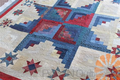 Machine Quilting Designs For Log Cabin Quilts by N Quilt Log Cabin Quilt Edge To Edge Machine