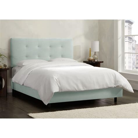 Tufted California King Bed by Skyline 794bed California King Tufted Bed Homeclick