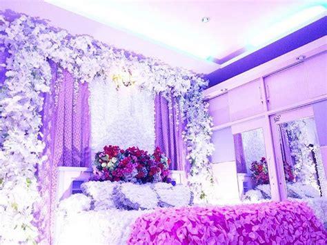Dekorasi Rumah Warna Ungu 37 dekorasi kamar pengantin sederhana yang romantis 2018