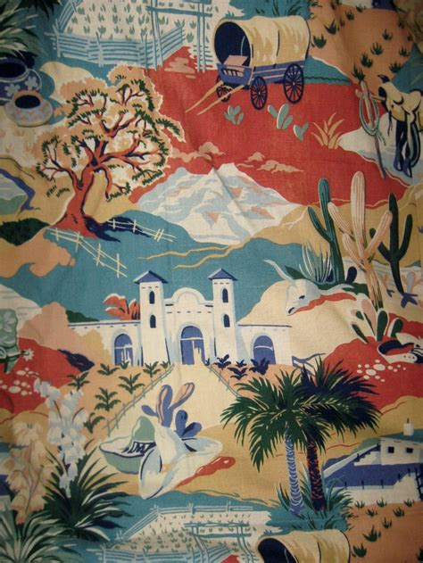 Western Fabric For Curtains Cool Western Bark Cloth Fabric Curtains Fabrics I Pinterest Cloths Westerns