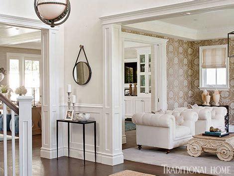 Giuliana Rancic Living Room by Moldings Bill And Giuliana Rancic S Home Traditional