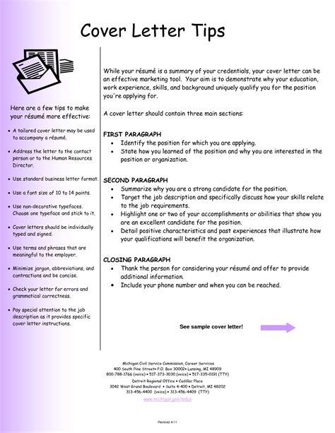 Sample Resume Letter – Free Cover Letter Samples for Resumes   Sample Resumes