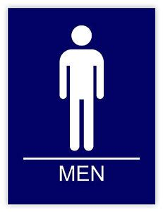 simbolo bagno uomini uomini bagno bathroom m 228 nner badezimmer etichetta