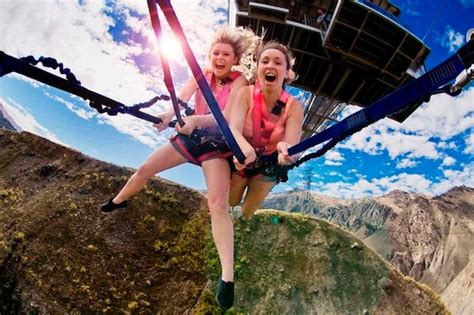bungee swing new zealand adventure tourism leader aj hackett bungy launches 25th