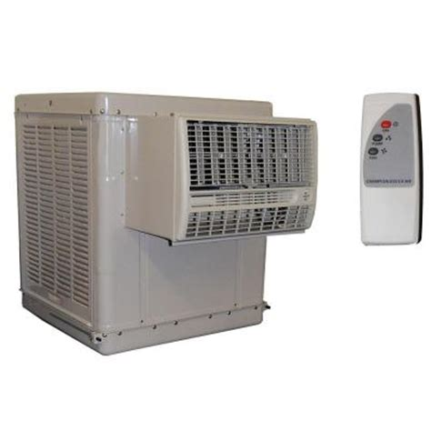 chion cooler 4700 cfm 2 speed window evaporative cooler