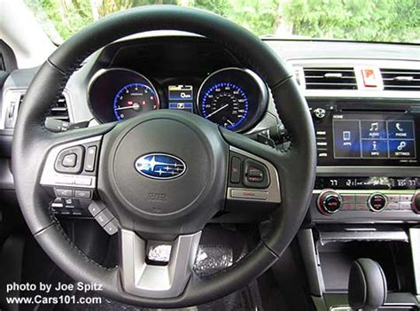 subaru outback steering wheel 2016 outback interior photographs and images