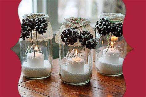vasi decorati fai da te decorazioni natalizie 2017 vasetti decorati per natale