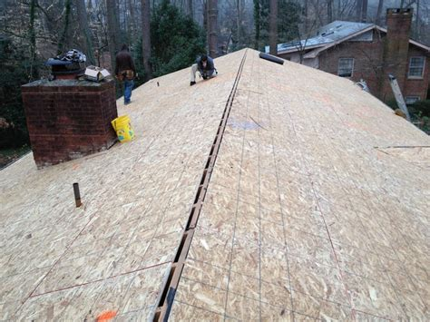 Decke Osb by New 1 2 Quot Osb Roof Deck Wood Rot