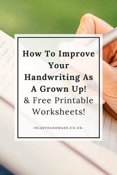 printable worksheets to improve handwriting 1000 images about lesson plans and learning on pinterest