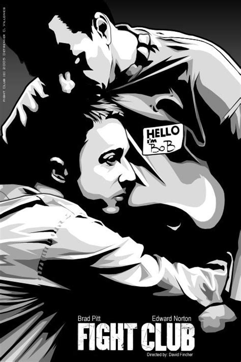 fight club alternative posters upodcasting under