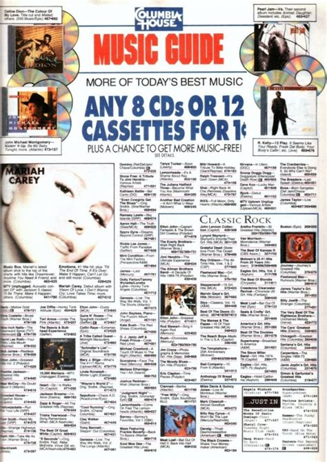 columbia house cd music club remember columbia house 10 cd s for a penny video