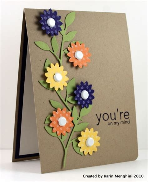 Simple Handmade Birthday Card Designs - 30 great ideas for handmade cards
