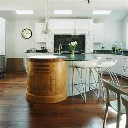 Kitchens With Islands Designs Mixed Materials
