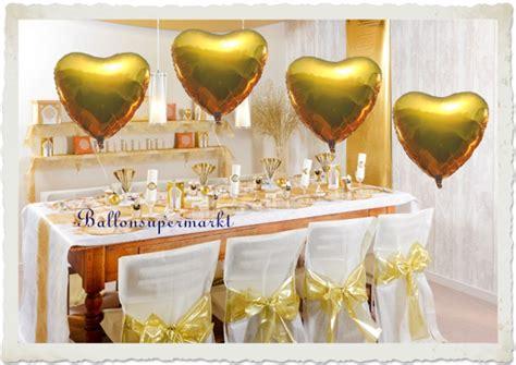 Goldene Hochzeit Dekoration by Goldene Hochzeit Dekoration Hochzeitsdeko Zur