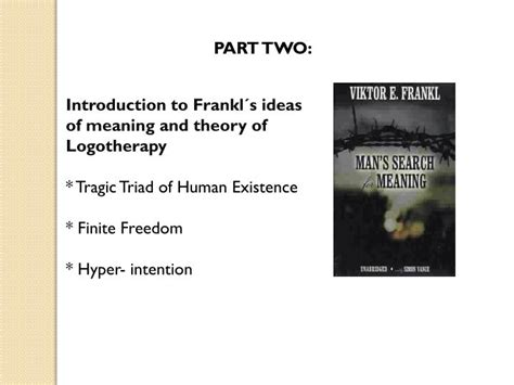 sexperiences books ppt viktor frankl and logotherapy powerpoint