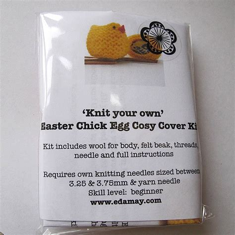 knit your own knit your own easter kit by edamay