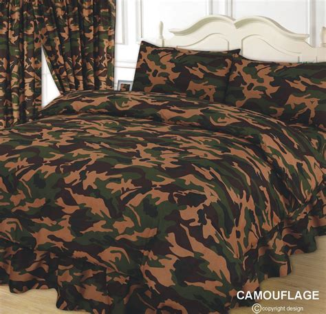Camouflage Quilt Cover army camouflage duvet cover set from century textiles