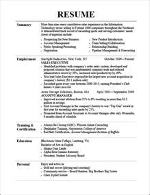 Resume Header Format by Resume Header Resume Format Download Pdf