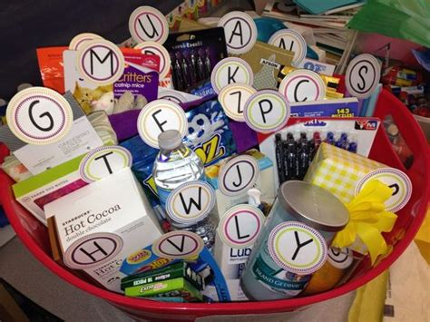 Letter Z Gift Ideas 10 Appreciation Gifts From The Class Homeroom