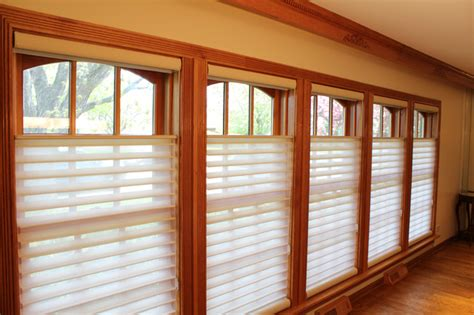 Blinds That Open From Top And Bottom Lincolnwood Silhouette Top Down Bottom Up Shades
