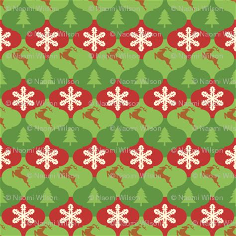 christmas tree tessellation pattern tessellating christmas ornaments with trees snowflakes and