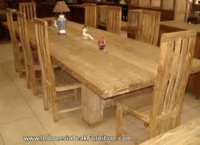 Dining Table Set Teak Wood Teak Wood Furniture Dining Table Chairs Set