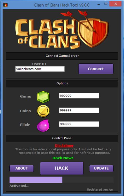 tutorial hack coc android clash of clans hack new tool update new game trick for