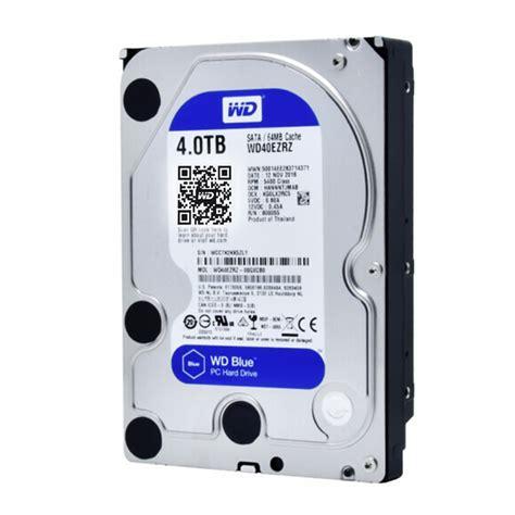 Wd Blue Harddisk 3 5 4tb western digital wd blue wd40ezrz 4tb hdd sata 3 5 inch