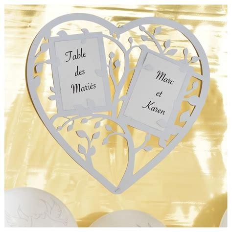 plan de table coeur plan de table coeur blanc