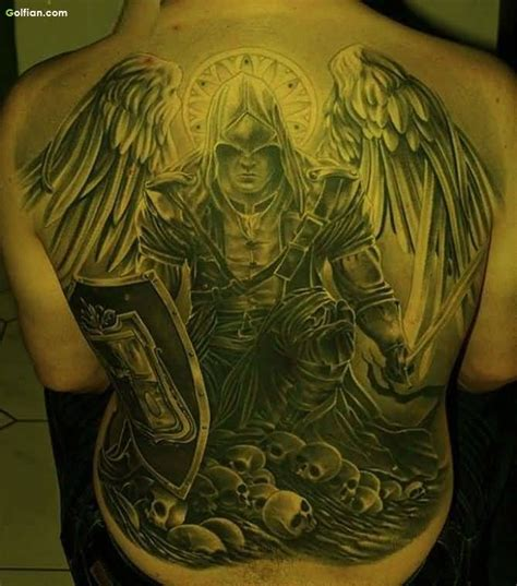 angel tattoo traditional 40 most amazing angel warrior tattoos best 3d angel