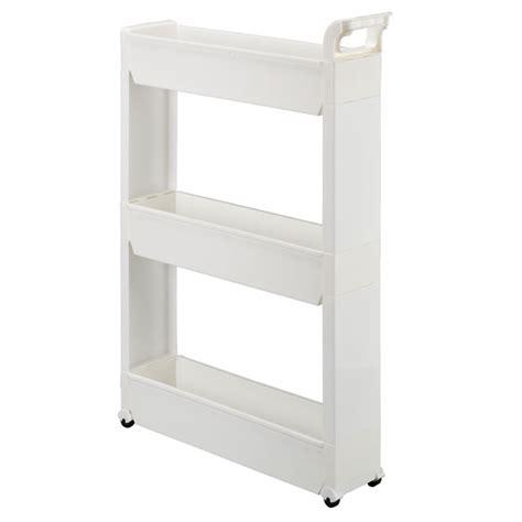 Kitchen Cabinet Rolling Shelves slim storage cart rolling cart storage carts miles