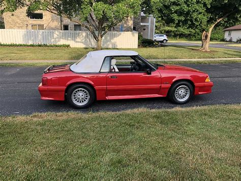 Ford Mustang 5 0 For Sale by 3rd 1989 Ford Mustang Gt Convertible 5 0 V8 For Sale