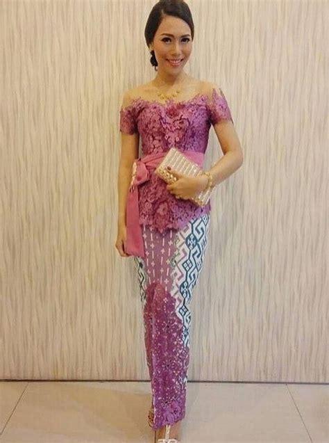 Baju Kebaya Pendek Kartika Putri macam macam model kebaya untuk wisuda ali mustika sari